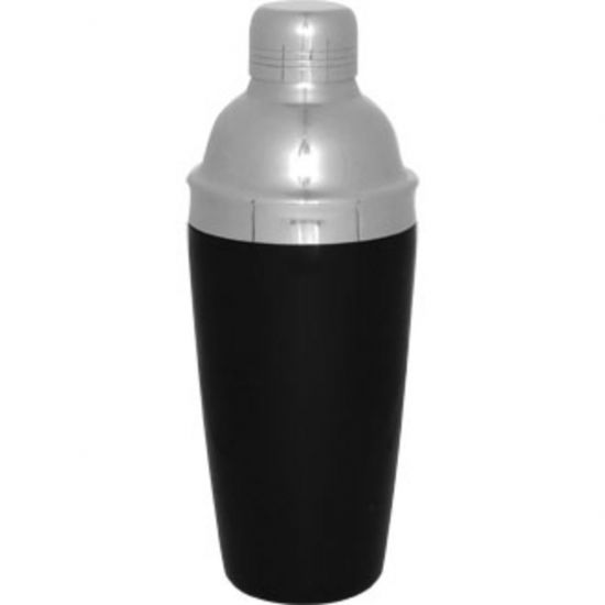 Olympia 3-Piece Cobbler Cocktail Shaker PVC Grip URO CD272
