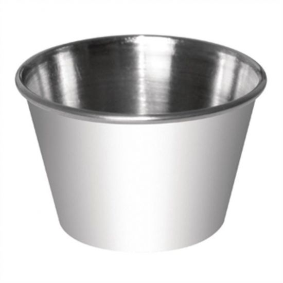 Dipping Pot Stainless Steel 230ml Box of 12 URO CD478