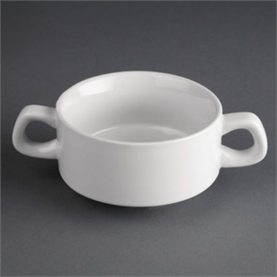 Athena Hotelware Stacking Soup Bowls 10oz Box of 12 URO CF369