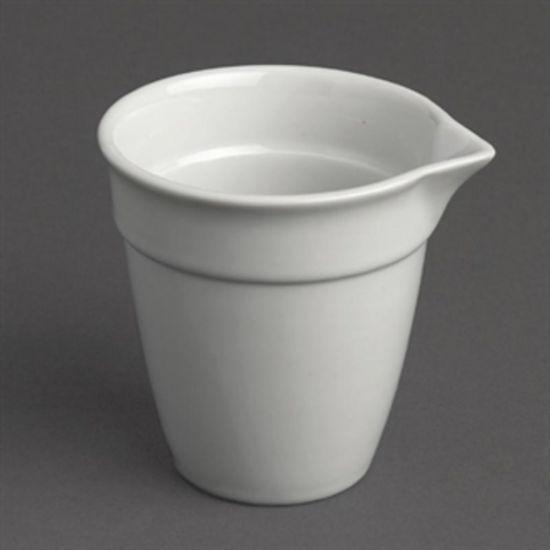Olympia Bistro Milk Jug White 100ml Box of 12 URO CL115