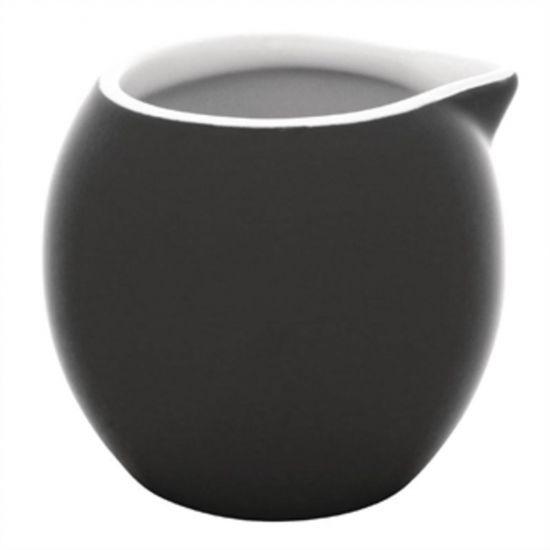Olympia Cafe Milk Jug 70ml Charcoal Box of 6 URO CM757