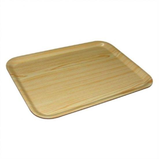 Olympia Rectangular Wooden Birch Tray 17.75 X 9.5 In URO DP226
