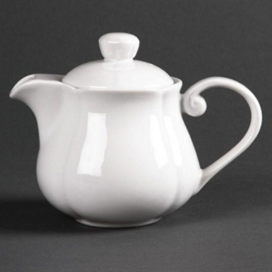 Olympia Rosa Teapots 402ml 14oz Box of 4 URO GC715