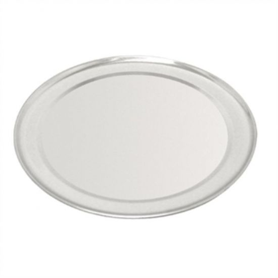 Vogue Aluminium Pizza Tray Wide Rim 8in URO GE196