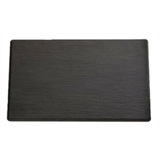 APS 1/4GN Slate Melamine Platter URO GF073