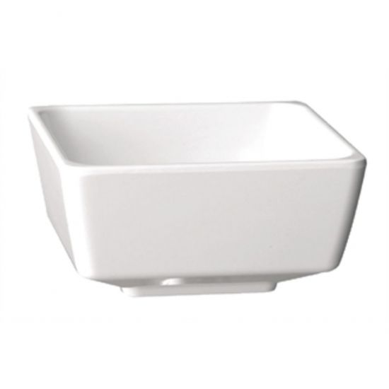 APS Float Square Dipping Bowl White 2in URO GF090