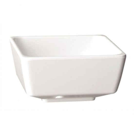 APS Float White Square Bowl 7in URO GF096