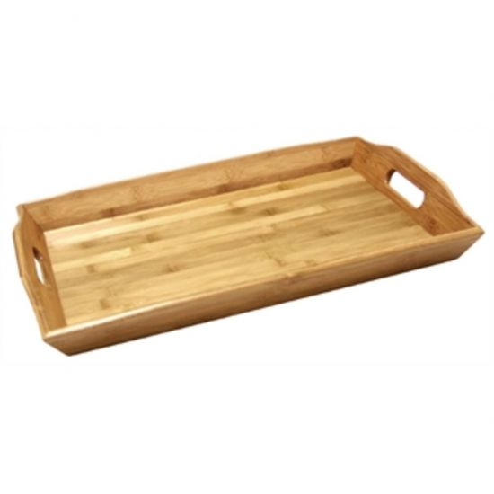 Olympia Bamboo Butlers Tray 15 X 23 In URO GF204