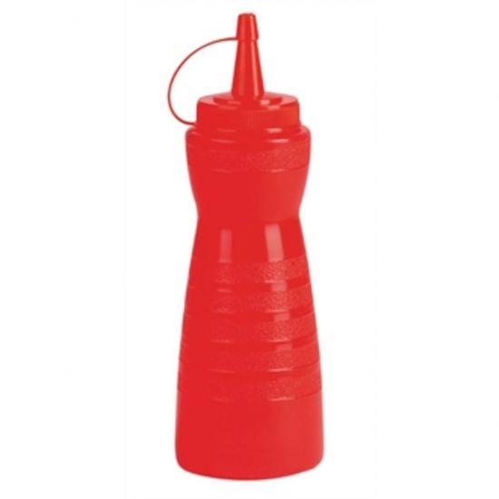 Vogue Red Lidded Sauce Bottle URO GF251