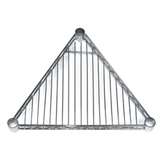 Triangular Shelf For Vogue Wire Shelving 610mm URO GF983