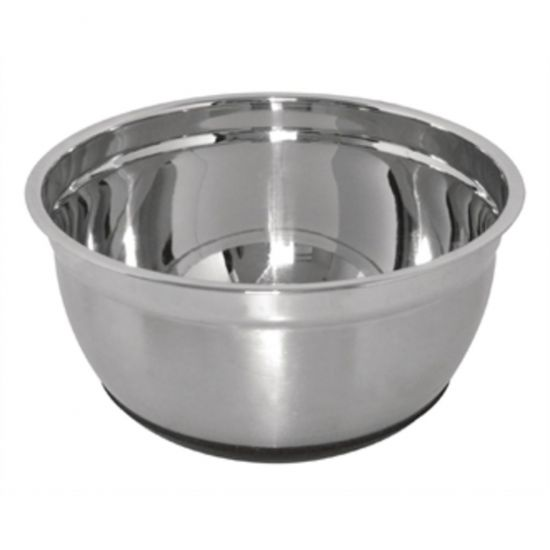 Vogue Stainless Steel Bowl With Silicone Base 8Ltr URO GG023