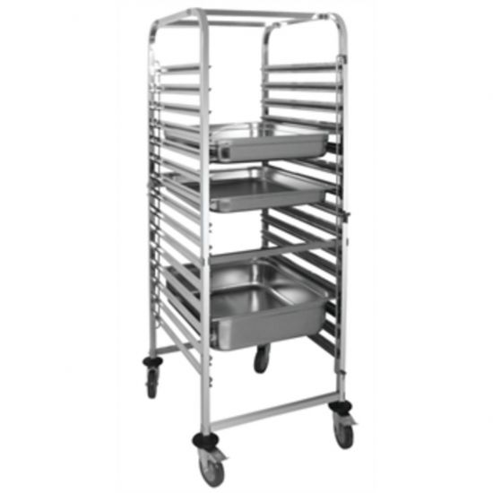Vogue Gastronorm Racking Trolley 15 Level URO GG499