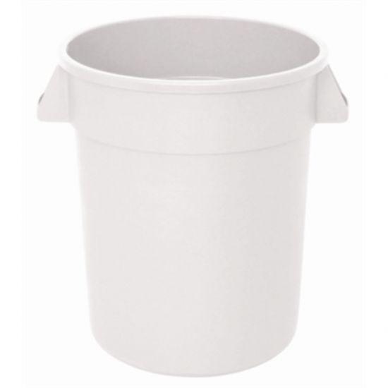 Vogue White Round Container Bin URO GG792