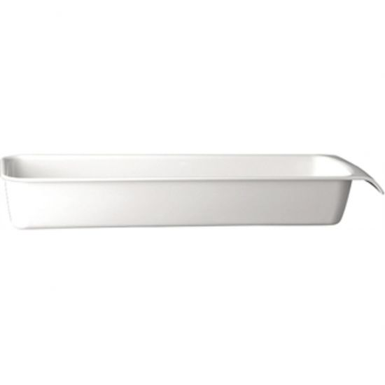 APS White 2/4GN Cascade Buffet Bowl URO GH401