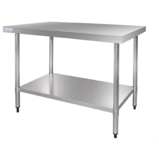 Vogue Stainless Steel Table 1500mm URO GJ503