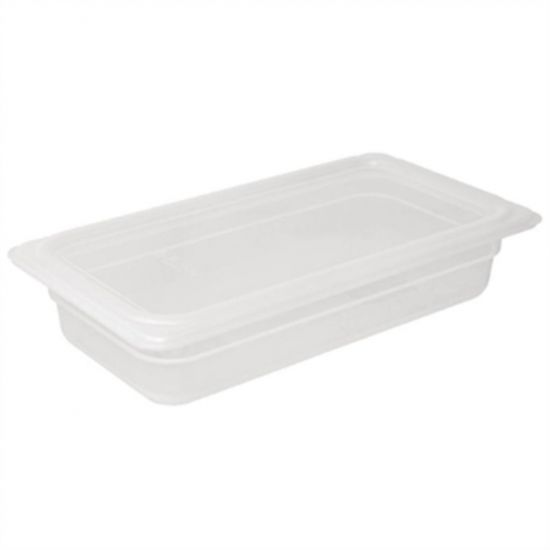 Vogue Polypropylene 1/3 Gastronorm Container With Lid 150mm URO GJ520