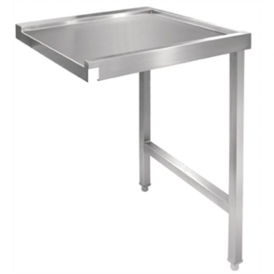 Vogue Pass Through Dishwash Table Right 600mm URO GJ534