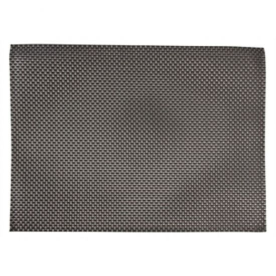 APS PVC Placemat Silver And Grey URO GJ995