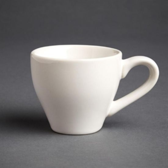 Olympia Cafe Espresso Cups White 100ml 3.5oz Box of 12 URO GK071