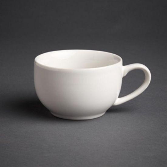 Olympia Cafe Coffee Cups White 228ml 8oz Box of 12 URO GK074