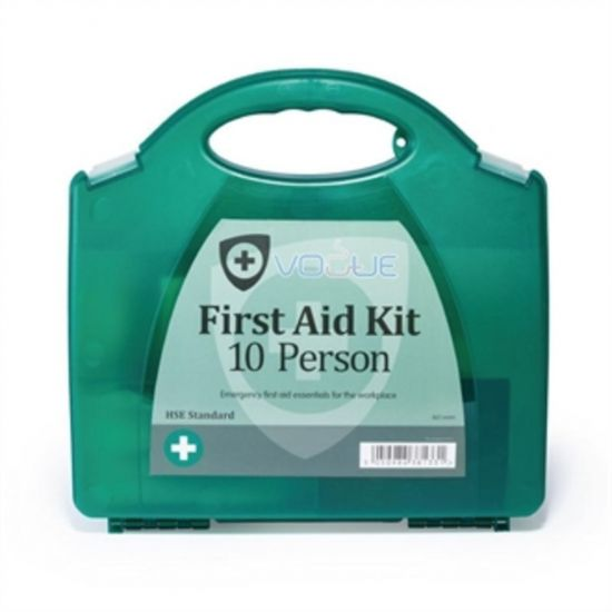 Vogue HSE First Aid Kit 10 Person URO GK091