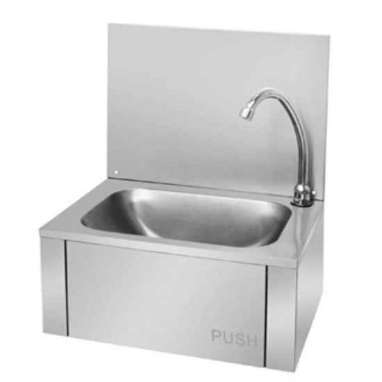 Vogue Stainless Steel Knee Operated Sink URO GL280