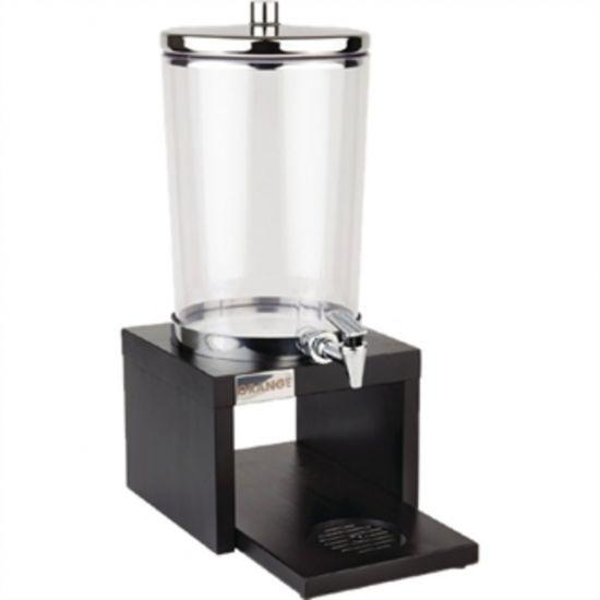 APS Wood Base Juice Dispenser Black URO GL629