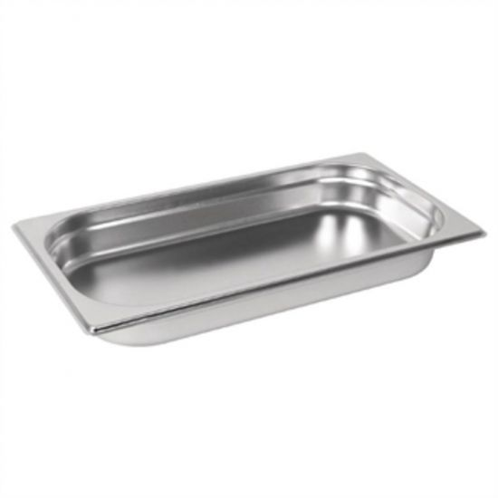 Vogue Stainless Steel GN 1/3 Pan 40mm URO GM311