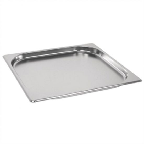 Vogue Stainless Steel GN 2/3 Pan 20mm URO GM314
