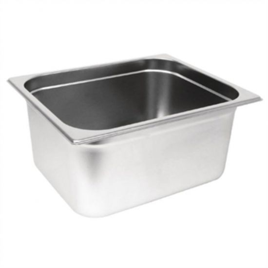 Vogue Stainless Steel Heavy Duty GN 1/2 Pan 150mm URO GM321