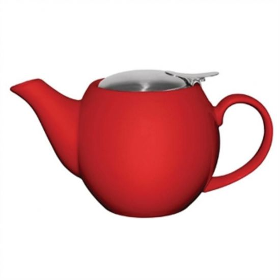 Olympia Cafe Teapot 510ml Red URO GM594