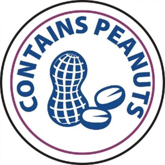 Vogue Food Allergen Label Peanuts URO GM803