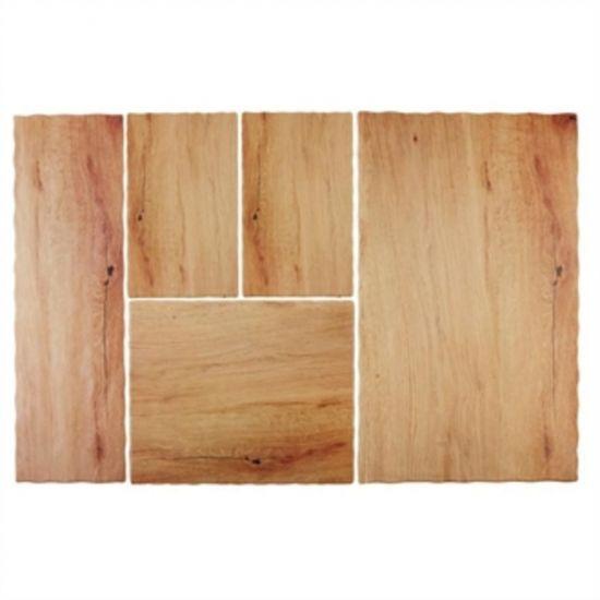 APS Oak Effect Melamine Tray 2/4GN URO GN568