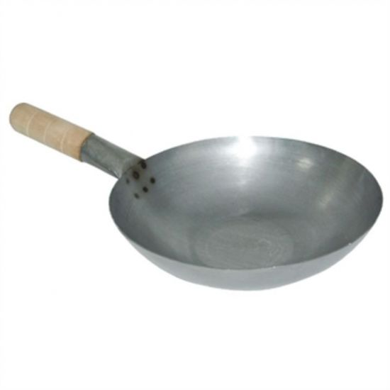 Vogue Mild Steel Wok Flat Base 330mm URO K296