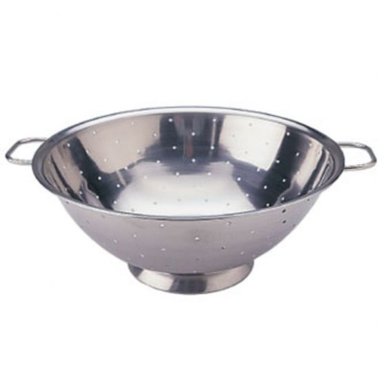 Vogue Stainless Steel Colander 10in URO K347
