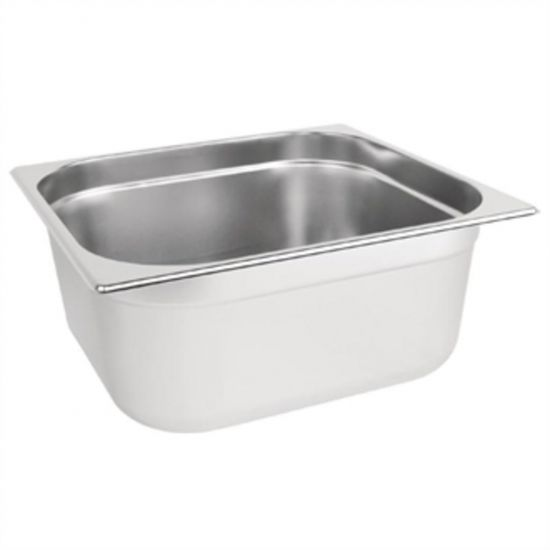 Vogue Stainless Steel 2/3 Gastronorm Pan 150mm URO K814