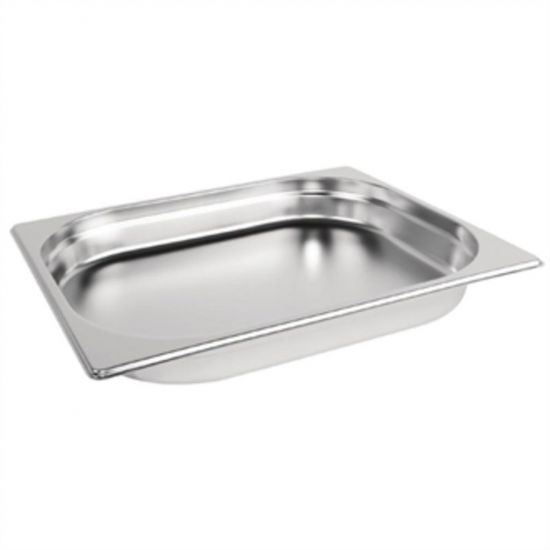 Vogue Stainless Steel 1/2 Gastronorm Pan 40mm URO K925