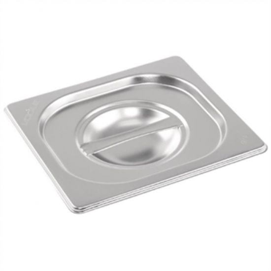 Vogue Stainless Steel 1/6 Gastronorm Lid URO K993