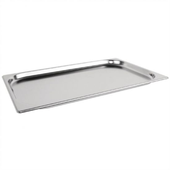 Vogue Stainless Steel 1/1 Gastronorm Pan 20mm URO K998