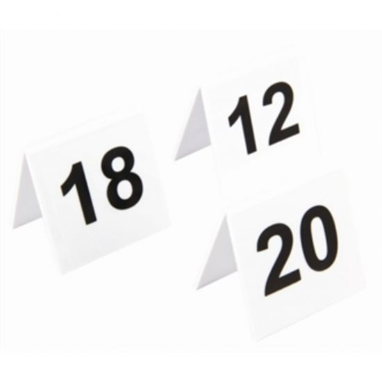 Plastic Table Numbers 11-20 URO L982