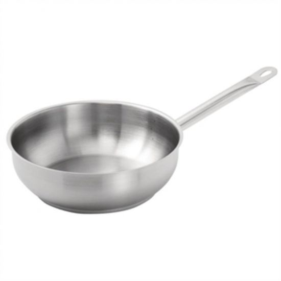 Vogue Stainless Steel Saute Pan 240mm URO M923