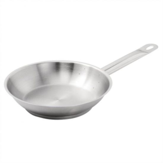 Vogue Stainless Steel Induction Frying Pan 200mm URO M924