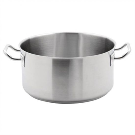 Vogue Stainless Steel Stew Pan 12.5Ltr URO M942
