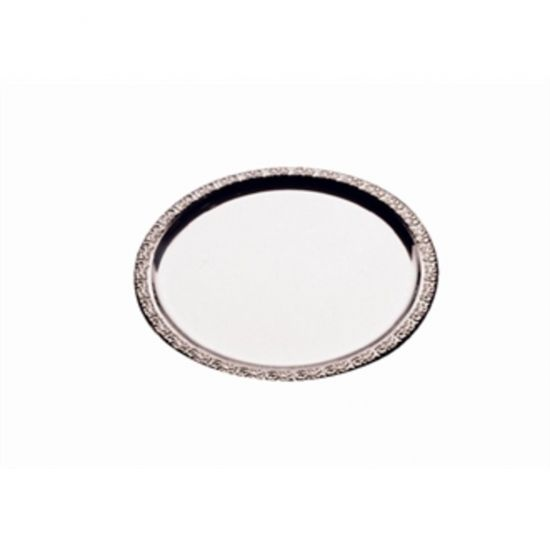 APS Stainless Steel Round Service Tray 310mm URO P002