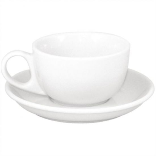 SPECIAL OFFER Athena Cappuccino Cups And Saucers Box of 48 URO S448