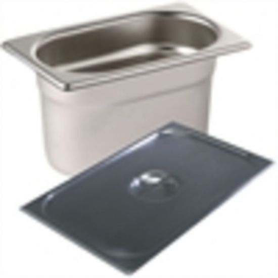 9 X 1/9 Gastronorm Pans With Lids URO S531
