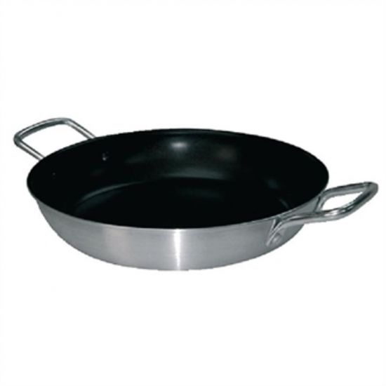 Vogue Non Stick Aluminium Paella Pan 450mm URO T369