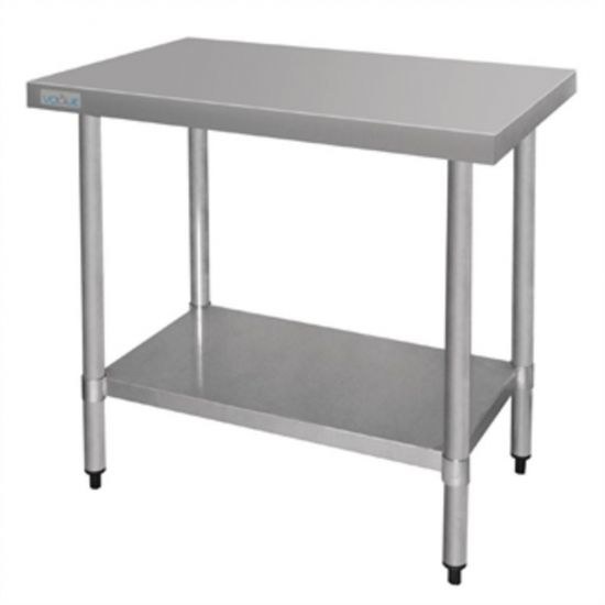 Vogue Stainless Steel Prep Table 900mm URO T375