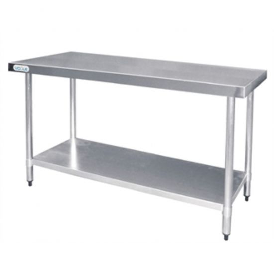 Vogue Stainless Steel Prep Table 1200mm URO T376