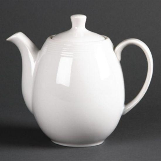 Olympia Linear Coffee Or Teapots 1Ltr 36oz Box of 4 URO U101